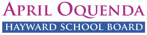 April Oquenda for Hayward School Board 2018